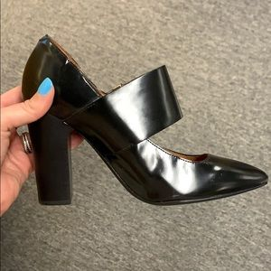 See by Chloe black pointy toe pump